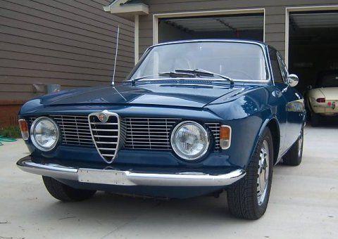 1965 Alfa Romeo Giulia Sprint GT Blue