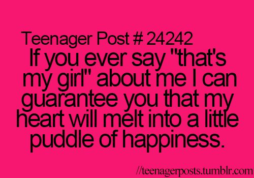 """or anything about """"My girl"""" to me... so sweet"""