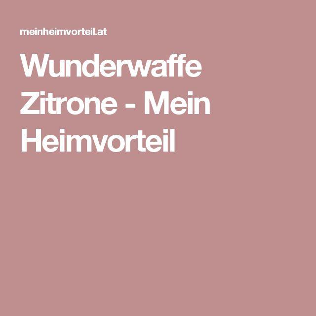 Wunderwaffe Zitrone - Mein Heimvorteil