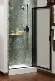 1000 images about basco shower doors on pinterest custom home builders pivot doors and - Shower glass protection ...