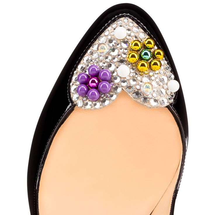Zapatos de las mujeres - Patente Doracandy / Birmania Gamuza - Christian Louboutin