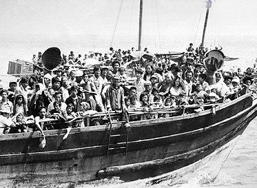 "Read it. "" Boat people: Many of these refugees ended up settling in the United States and Europe. The United States accepted 823,000 refugees; Britain accepted 19,000; France accepted 96,000; Australia and Canada accepted 137,000 each. """