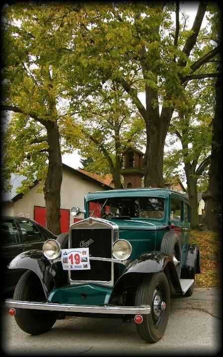 Old car - Praga