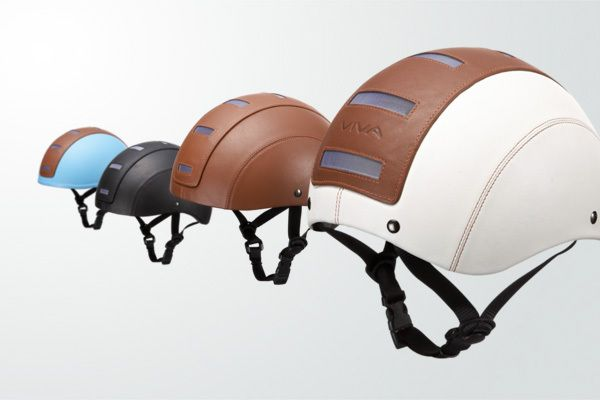 Viva Bicycle Helmets Red Dot Award In 2010 Leather And