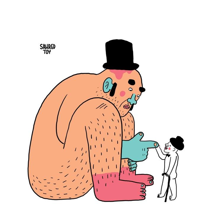 Pentou   character design