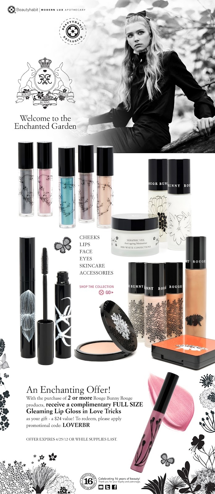 nice illos for Rouge Bunny Rouge makeup packaging