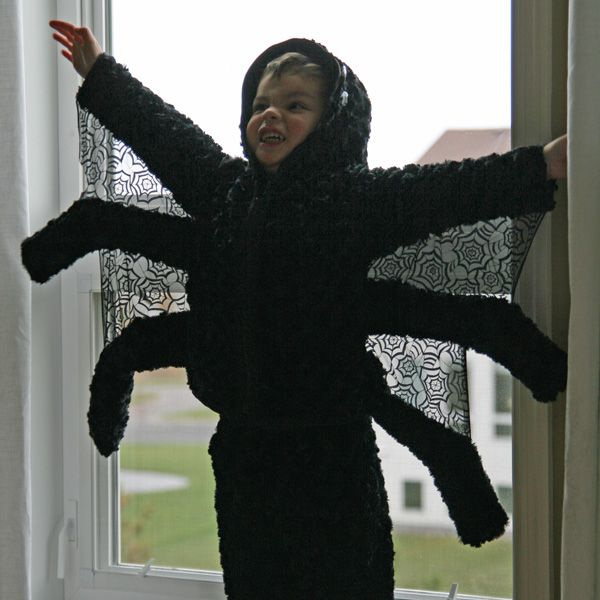 diy spider costume animal costumeskid costumeshalloween - Kids Spider Halloween Costume