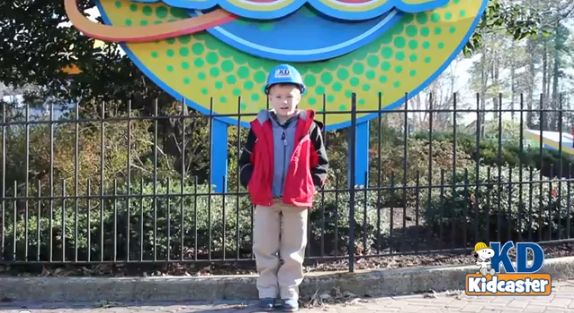 Official KidCaster takes us on a behind the scenes tour of Planet Snoopy at Kings Dominion