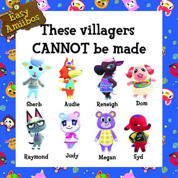 Bundle Of 5 Any Animal Crossing Amiibo Animal Crossing Amiibo Cards Animal Crossing Music New Animal Crossing