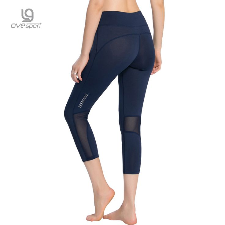 Ovesport Mesh Patchwork Sexy Yoga Pants Women Sports Pants For Women Fitness Sexy Gyming Tights Workout Running Trousers -- AliExpress Affiliate's buyable pin. Clicking on the image will lead you to find similar product on www.aliexpress.com #Yogapants