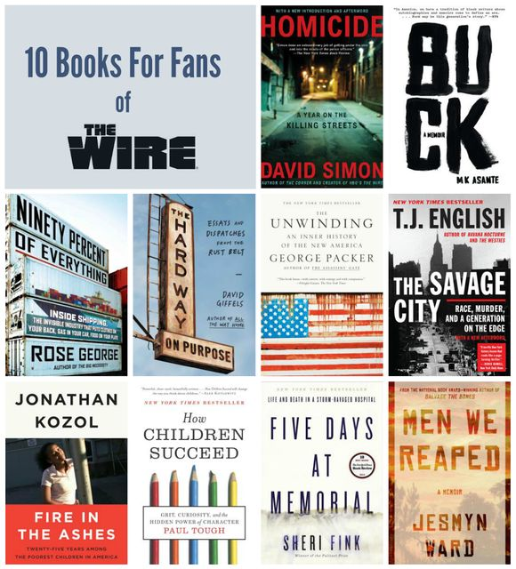 Ten Books for Fans of HBO's The Wire