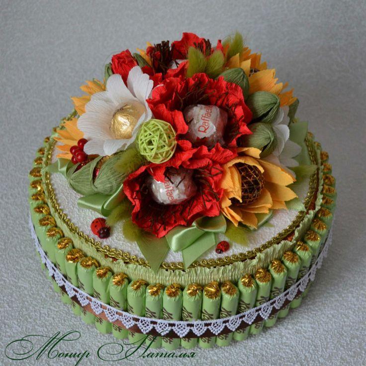 Gallery.ru / Фото #141 - Тортики из конфет - monier