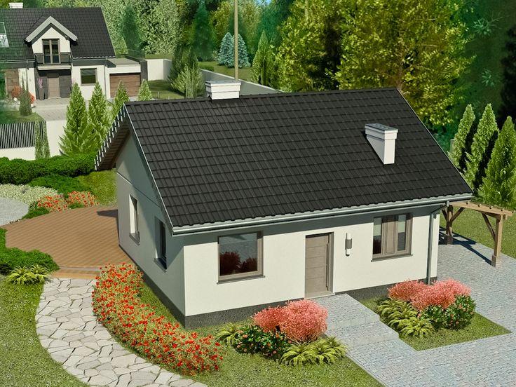 Projekt domu Dom przy Topolowej 2 - DOM EB3-69 - gotowy projekt domu