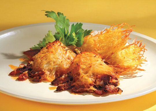 Trefa Supermarket - Recepty - Hlavní jídla -  Bramborová zapečenka