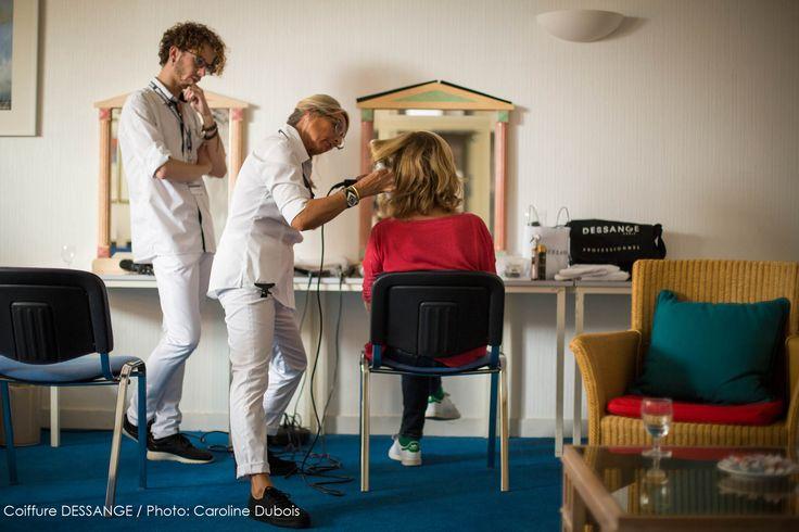 Michelle Laroque - présidente du jury de la 17ème édition du Festival de la Fiction TV - a confié sa mise en beauté à nos collaborateurs du Salon DESSANGE La Rochelle. A suivre : le résultat ! #DESSANGE #FFTV2015 #CoiffeurOfficiel #passion #FestivalFictionTV #LaRochelle