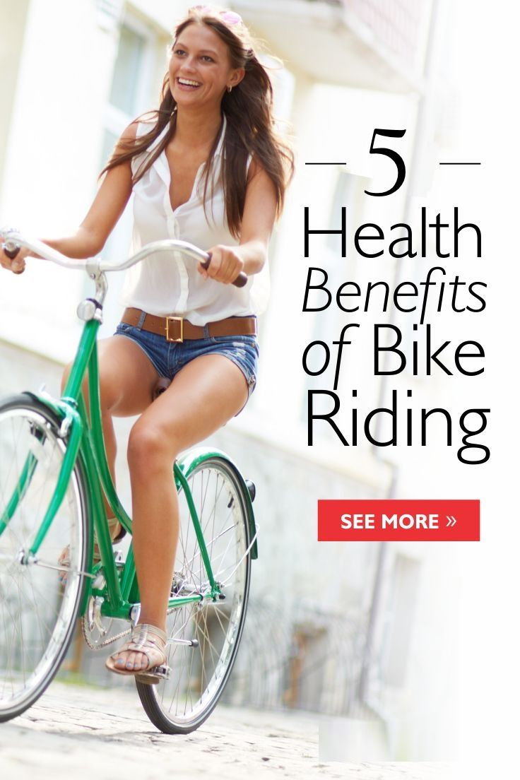 The benefits of bicycle riding