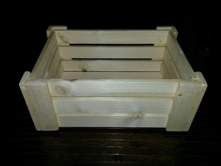 Cassetta in legno porta oggetti in Arte e antiquariato, Arredamento d ...