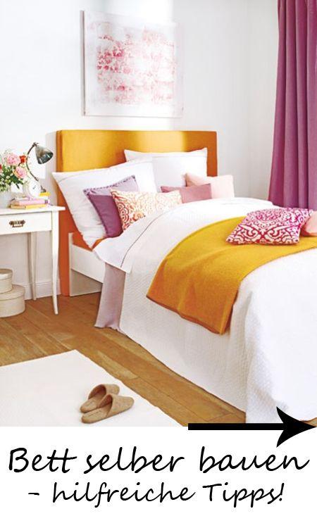 bett selber bauen hilfreiche tipps schlafzimmer pinterest bett selber bauen selber. Black Bedroom Furniture Sets. Home Design Ideas