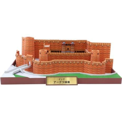 India Agra Fort, de bouw, papier ambachtelijke, Azië en Oceanië, India, wereld erfgoed, gebouw
