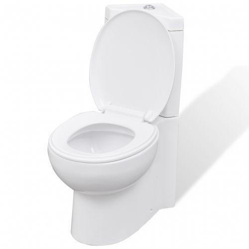 #Vidaxl wc toilette in ceramica per bagno nero - Out of stock  ad Euro 218.99 in #Vidaxl #Wc