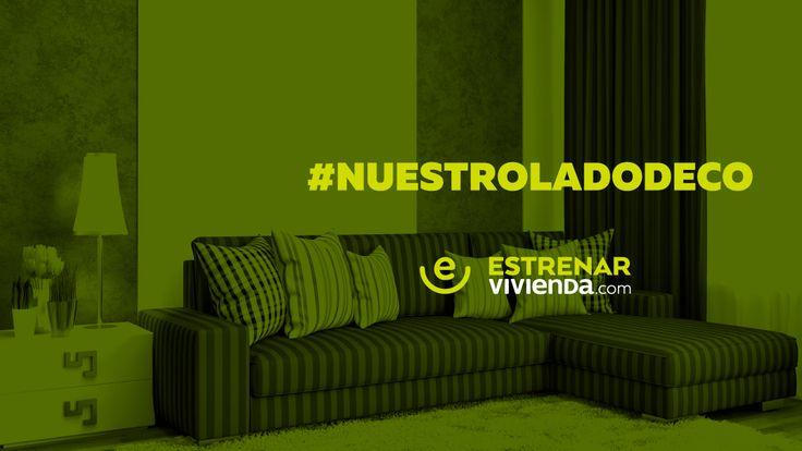 #NuestroLadoDeco hace parte de la felicidad de #EstrenarVivienda.