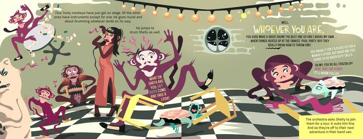 "Pirita Tolvanen ""A Long Way Home: Monkey Business"" on Behance"
