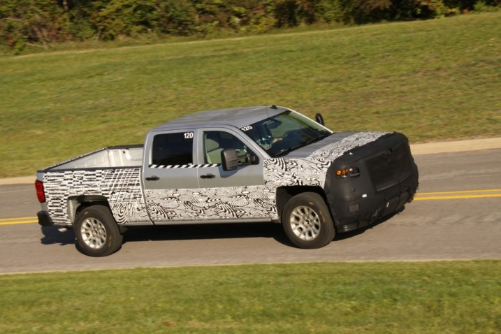 2014 Chevrolet Silverado Teased by GM #chevrolet #chevy #silverado #truck #pickup #potamkinnyc #nyc #newyork #manhattan