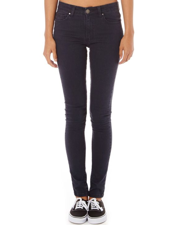 Skinny Jean, COAL GREY - from Glassons