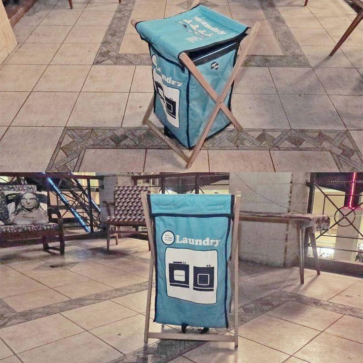 "COMING SOON... ""Laundry Hampers""  Canvas Fabric Velcro Closure FOLDABLE Wood stand Screen Printed Washable  #laundryhamper #laundry #printed #homewares #homeappliances #homedecor #productdesign #designproduct #designinterior #interiordesign #moblerprojekt #coolstuff #hamper #house #perabot #perabotrumah #design #homeindustry #local #bandung #indonesia"