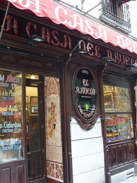 Madrid - Bares tipicos - La Casa del Abuelo