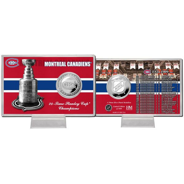Montreal Canadiens Stanley Cup Coin Card - $19.99