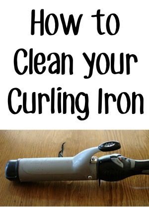 How to Clean Your Curling Iron! ~ from TheFrugalGirls.com ~ this simple trick will get your curling iron all squeaky clean again! #hair #tips