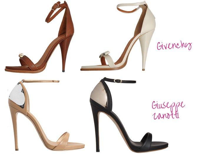 Minimalistic, Barely There Sandals - ShoeRazzi