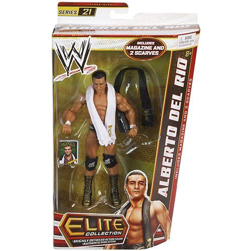 WWE Elite Series 21 Alberto Del Rio Figure | Your #1 Source for Toys and Games