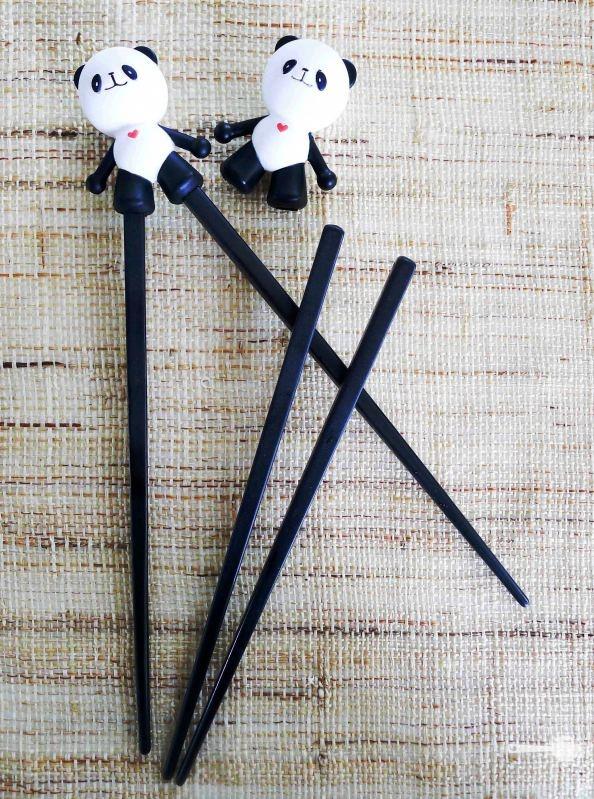 Kid's training chopsticks, Panda love!