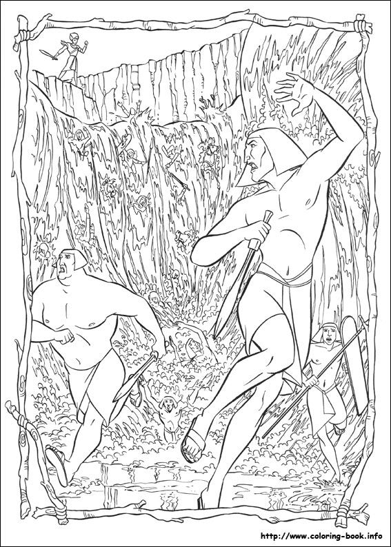 The Prince Of Egypt Coloring Picture Coloring Pages Prince Of