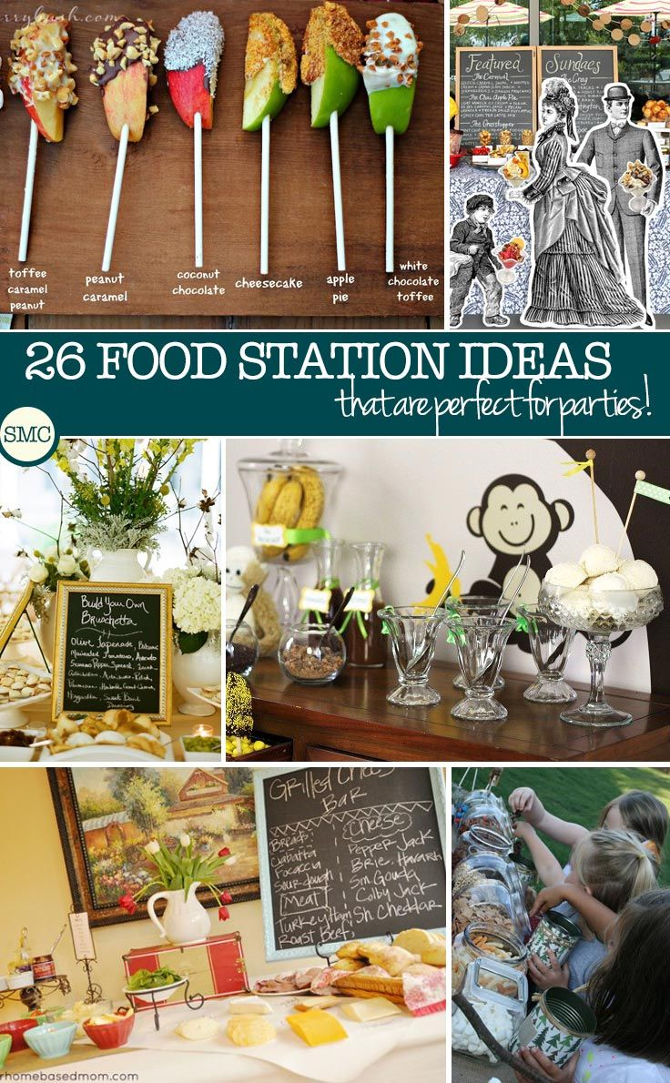 These food station ideas are just what i need to impress my guests!