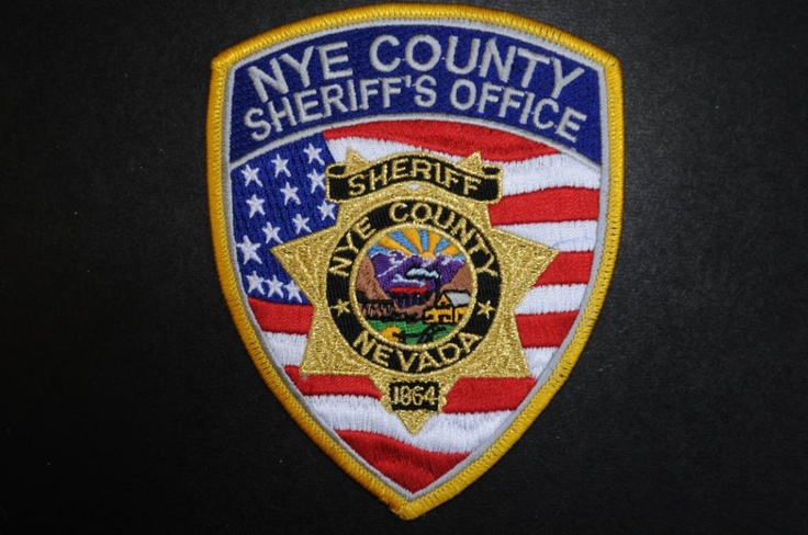 Nye County Sheriff Patch, Nevada (Current Issue) Police