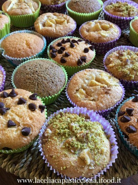 Muffin senza glutine assortiti