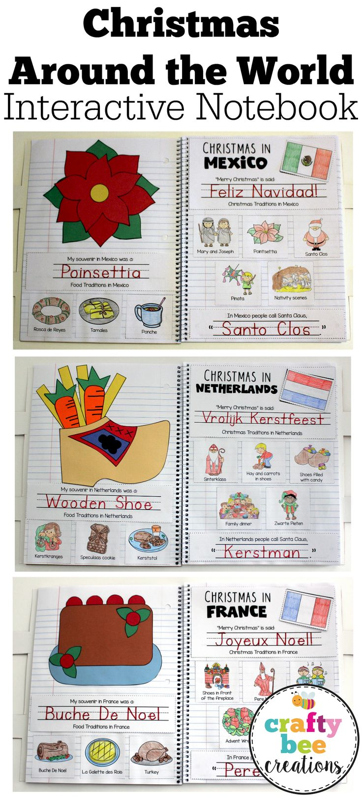17 best ideas about christmas worksheets on pinterest for Around the world crafts