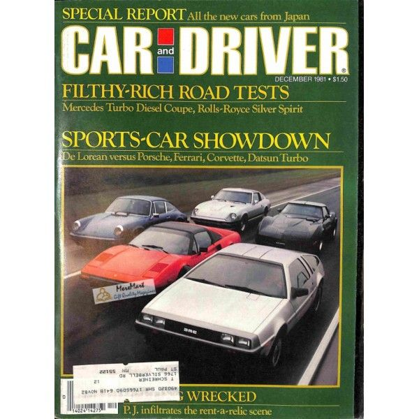 21 best car and driver magazine images on pinterest car and driver cover print of car and driver magazine december 1981 660 fandeluxe Image collections