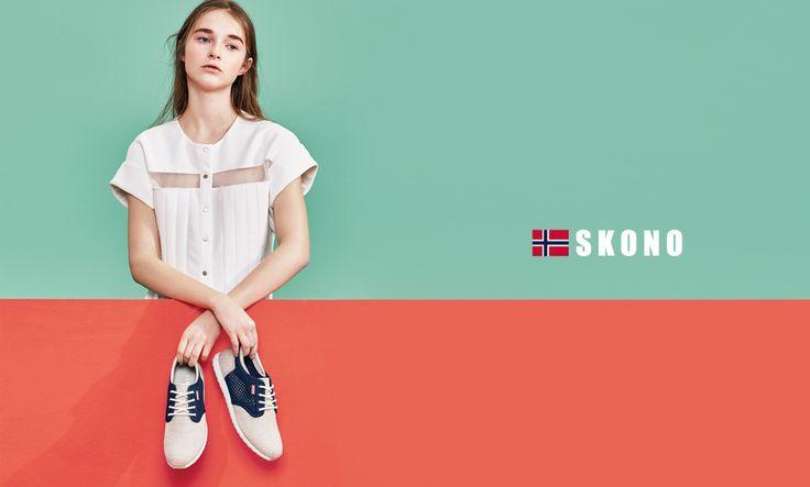 Scandinavian fashion sneakers(shoes) brand World licensee : SKONOKOREA Contact for sales(online, offline) : help@skonokorea.com