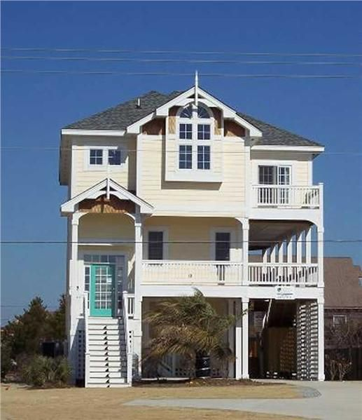 17 best images about beach ideas on pinterest house for Large beach house plans