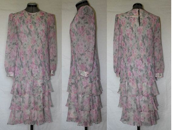 Vintage Dress by Marinette Women Pastel Pink by ...