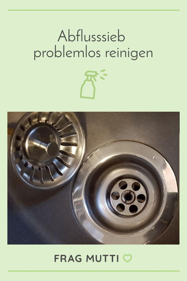 Abflusssieb problemlos reinigen in 2020 Reinigen, Küche