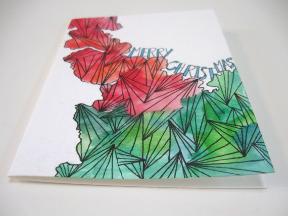 8 best Abstract christmas cards images on Pinterest Christmas - blank xmas cards