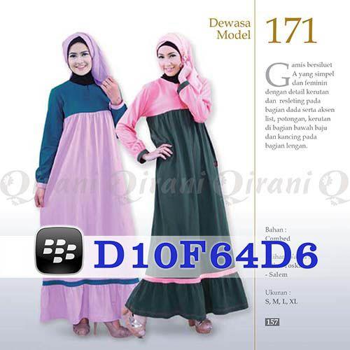 Gamis Qirani Model 171 Hubungi 085732697004 PIN BB D10F64D6