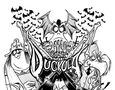 "Check out new work on my @Behance portfolio: ""Count Duckula / FantArt"" http://be.net/gallery/44687123/Count-Duckula-FantArt"