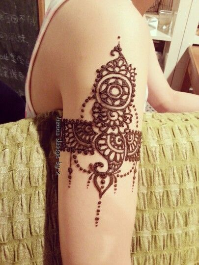 Mehndi Tattoo Bajuband : Best bracelet and bangle mehndi designs images on