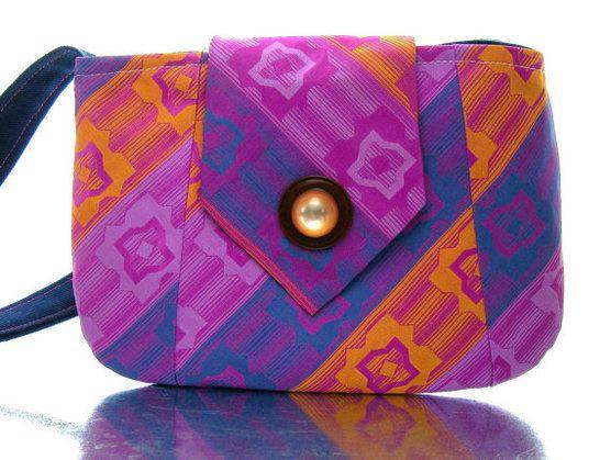 Sharee design Necktie Purses